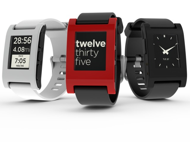 Pebble-E-Paper-Watch-for-iPhone-and Android